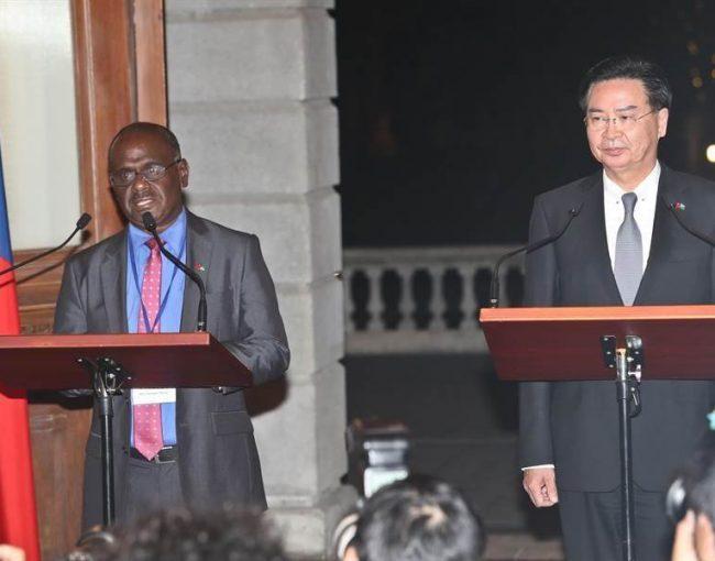 【急報】中華民國外交部正式宣布與索羅門群島斷交